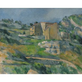 Paul Cezanne - Houses in Provence- The Riaux Valley near L'Estaque c. 1883