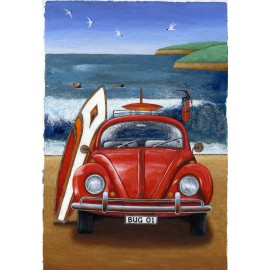 Beetle on the Beach