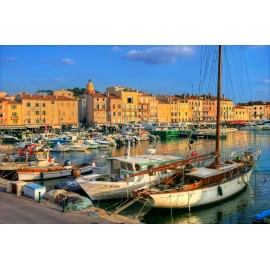 The Old Port in St. Tropez
